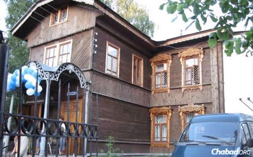 The 105-year-old synagogue in Kostroma