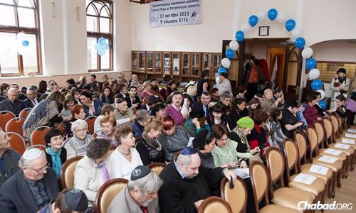 Kostroma has seen a resurgence in Jewish life in recent decades.