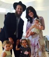 Meet the Rabbi & Family