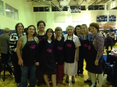 Women at Mega Challah Bake 1