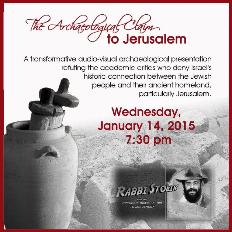Claim to Jerusalem