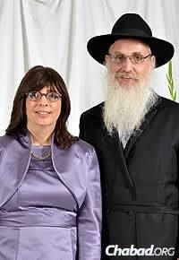 Rabbi Yisroel and Leah Engel
