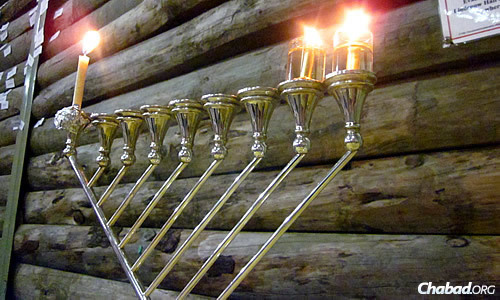 """Chanukah becomes """"an incredibly warm memory for the children,"""" says Rabbi Menachem Lipskier, who directs a number of Gan Israel overnight and day camps under the rubric of Chabad Youth in Melbourne, Australia."""