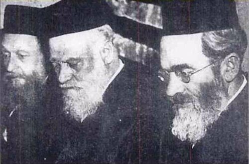 Rabbi Dubrow with Rabbis Klaven and Silverstone.
