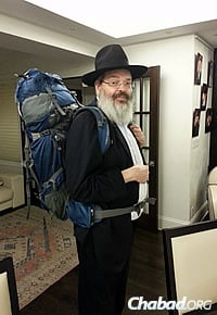 Leibish Nash flew into Montana with a well-packed Torah, dedicated to the 66 Israel Defense Forces soldiers killed in Israel's summer war with Hamas in Gaza.