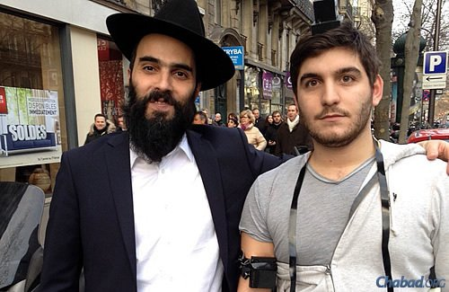 """Chabad rabbis stress that """"doing more mitzvot is a source of blessings and protection."""""""