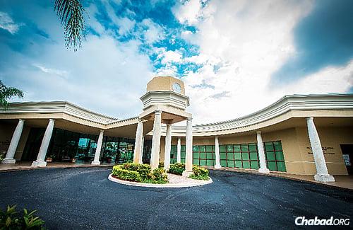 The Morris & Anita Kaufman Chabad Center on the Helen & Julius Reiter Campus in Boca Raton, Fla.