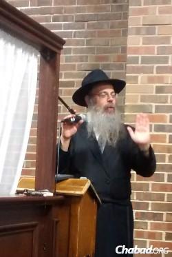 Rabbi Yoseph Y. Groner.