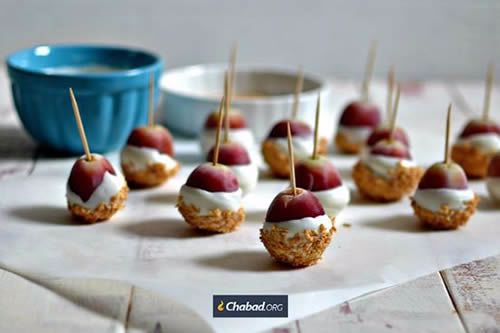 There are links to popular recipes on Chabad.org.