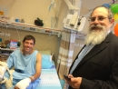 At the Hospitals visiting Israeli Solderis
