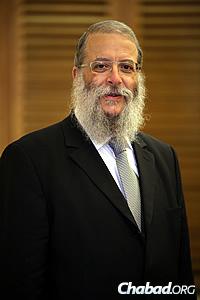 Rabbi Chaim Shneur Nisenbaum
