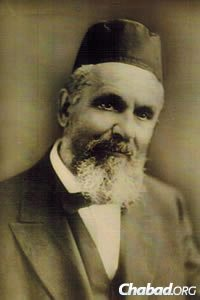 The rabbi in his later years (Photo: Kevarim.com)