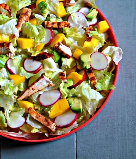 Healthy Grilled Chicken Salad Lettuce Based Salads Kosher Recipe