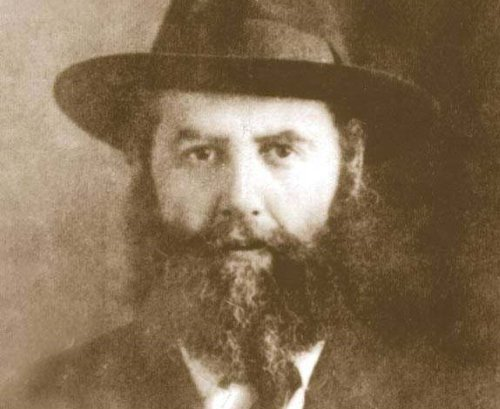 Rabbi Yosef Yitzchak Schneersohn—the Previous Rebbe, of righteous memory—in his younger years.