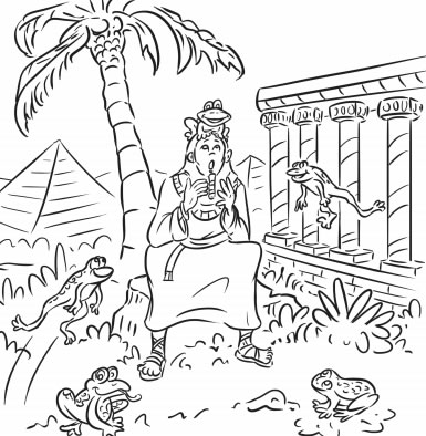 12 Page Passover Coloring Book Coloring Pages Jewish Kids