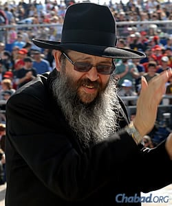 Rabbi Tzvi Grunblatt, director of Chabad Lubavitch of Argentina