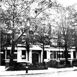 Rebbetzin Chana's Brooklyn residence, at 1418 President Street