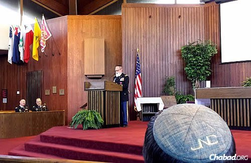 Rabbi Jacob Goldstein recently retired amid pomp and circumstance at a ceremony in Fort Myer, Va.