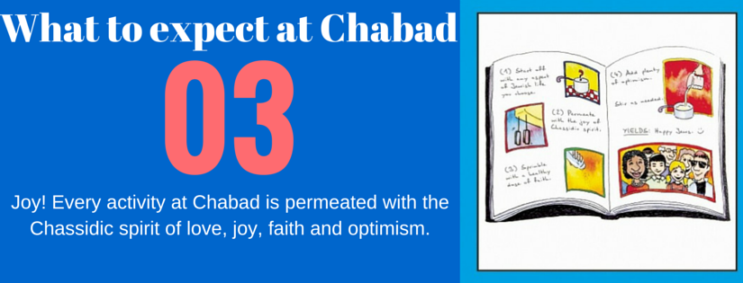 what to expect at chabad3