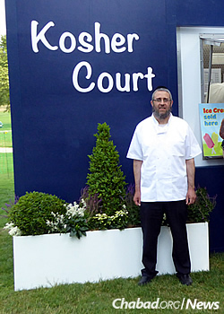 Rabbi Dovid Cohen, co-director of Chabad on Campus in South London, has run the operation for the last seven years.