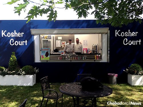 Kosher Court opens each year during the two weeks of summer that Wimbledon takes place, attracting local residents and visitors the world over.
