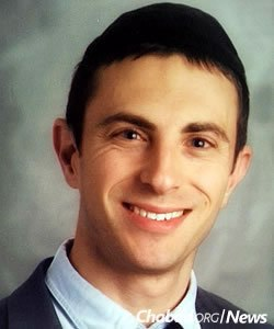 Rabbi Ilan Heifetz, the Chabad school's secular-studies principal