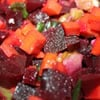 Beet, Carrot & Celery Salad with Walnuts