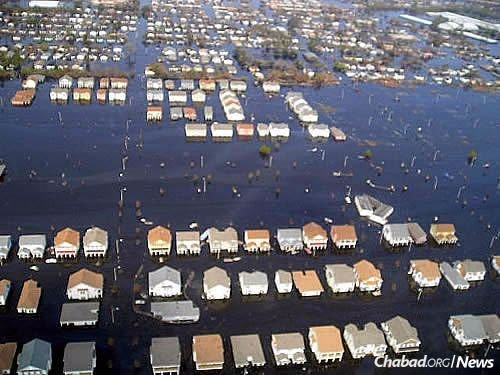 Water rose to the roofs of homes in the hardest-hit areas.