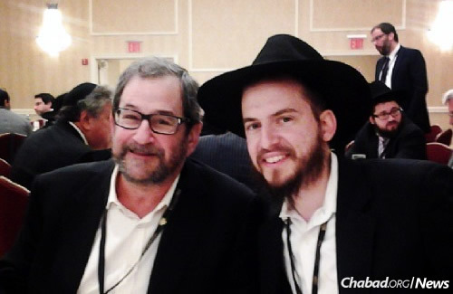Fine and Montreal resident Allan Sheff, who have become close over the years since that first visit by the rabbi over the High Holidays.