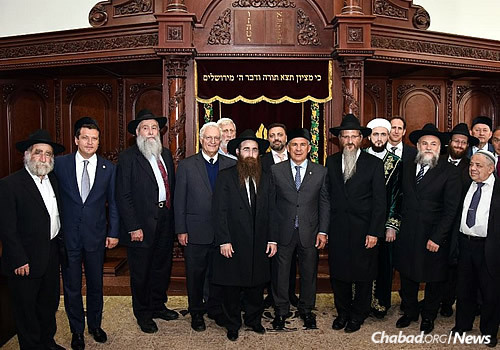Funding for the project came from the government and from members of the local Jewish community. (Photo: Eli Segal)