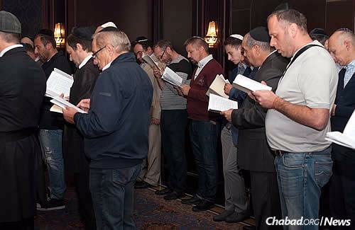 """""""The Rosh Hashanah prayers that discuss the exile and scattering of the Jewish people have a special meaning for us,"""" acknowledges Vishedski. """"It's no longer abstract."""""""