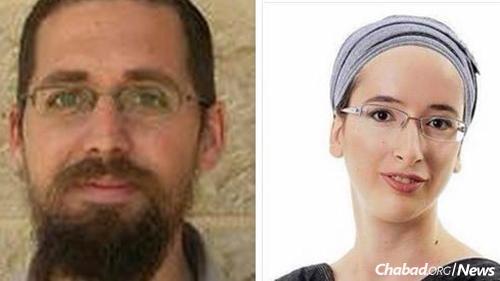 Rabbi Eitam and Na'ama Henkin (Photo: Channel 2 News)