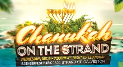 Chanukah On The Strand - Galveston!