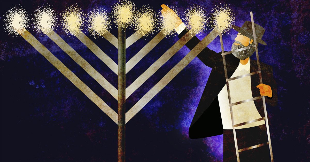 Why Insist On Depicting A Straight Branched Menorah Questions Answers