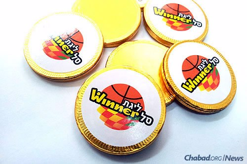 Chabad is also organizing menorah-lightings at Israeli Basketball Premier League games, where fans will receive specially designed Chanukah gelt.