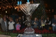 Chanukah in the Plaza