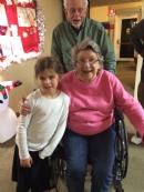 Chanukah parties with seniors