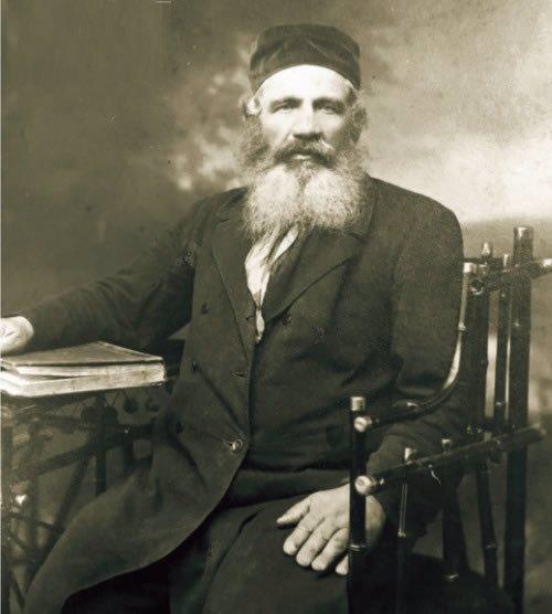 Eliezer Paltiel, grandfather of the author