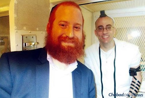 With Goldstein's intervention, Jedidiah Murphy had the long-awaited opportunity to don tefillin and celebrate his bar mitzvah, as he sits on death row in Texas.