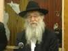 R' Nachman Schapiro Teaches a Purim Sicha (Yiddish)