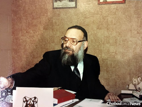 """The rabbi was a universally respected figure in the Springfield Jewish community. He is described by the many who knew him as a """"scholar"""" and a """"gentle soul"""" whose non-judgmental approach endeared him to thousands."""