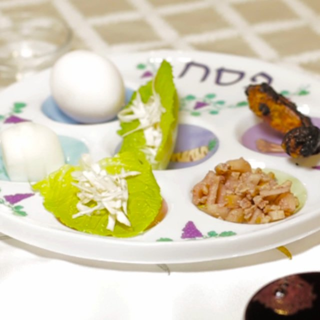 The Seder Plate The Ingredients And The Order Of Placement Passover