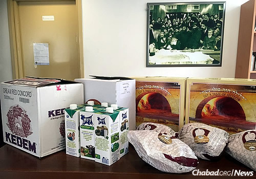 Items that help make Passover a happier holiday for those grappling with food insecurity.