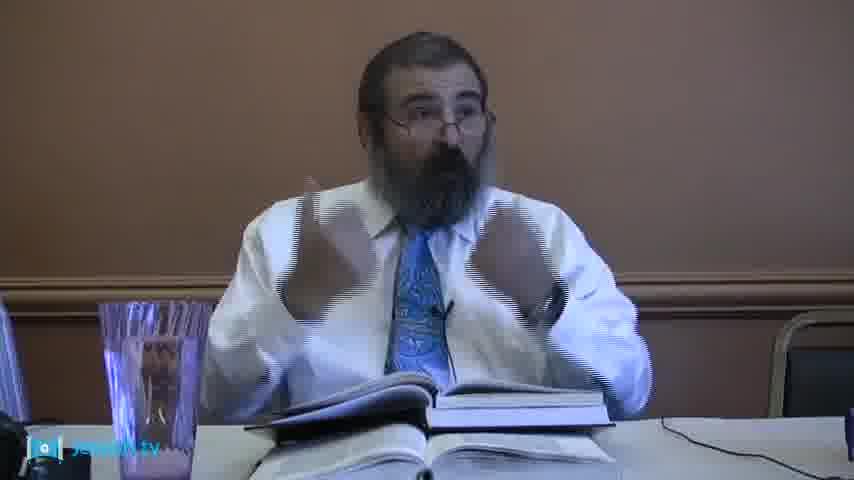 Rabbi Gordon - Bamidbar: 4th Portion