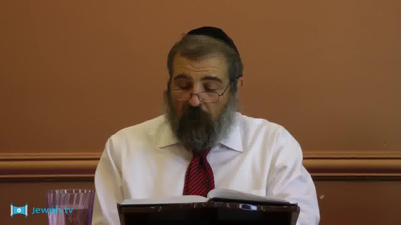 Rabbi Gordon - Behar-Bechukotai: 3rd Portion