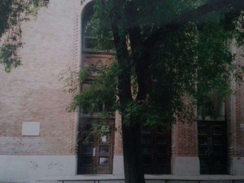 מבנה בית הספר בו למדה ליאורה-רות