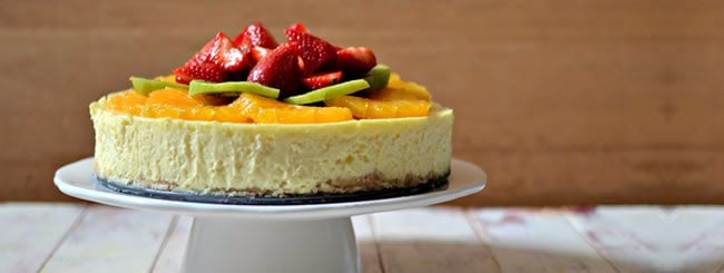 Cheesecakes: Classic Cheesecake with Fresh Fruit for Shavuot