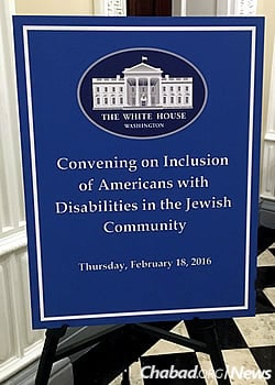 Rivky Berman was on the advisory board of the Ruderman Chabad Inclusion Initiative