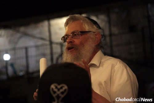 Rabbi Shaul Leiter,director of Ascent of Safed