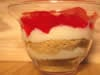 Layered Strawberry Cheesecake Cups